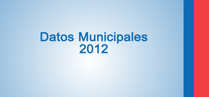 Datos Municipales 2012